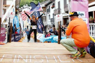 ITALY 27 OCTOBER 2016. Razif Yahya ketika menamatkan perlumbaan Tor Des Geants Endurance Trail sejauh 330KM . NSTP/EMIAL.